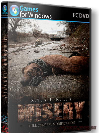 stalker call of pripyat misery 2.2 (2014)